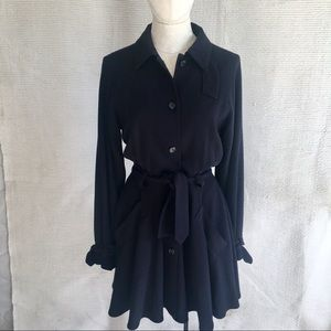 Isaac Mizrahi Vintage 90s RTW Wool Dress / Coat